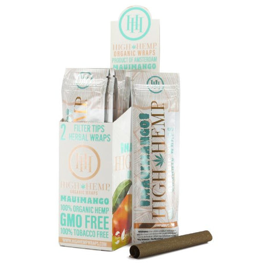 Maui Mango High Hemp Organic Wraps Canada