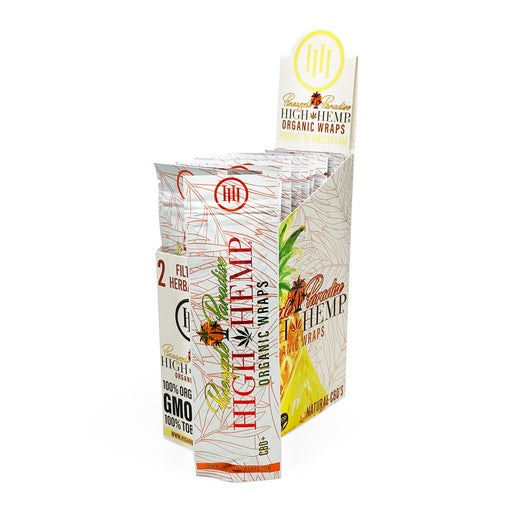 Pineapple Paradise High Hemp Organic Wraps Canada