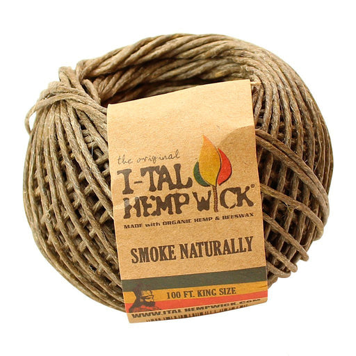 King Size Ball of Hemp Wick I-Tal Canada
