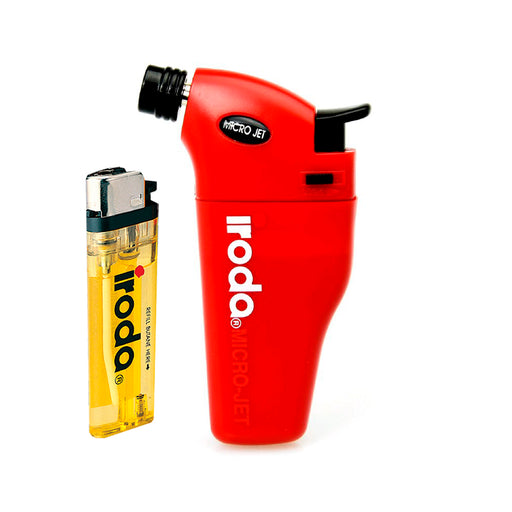 Red Iroda Torch Lighter