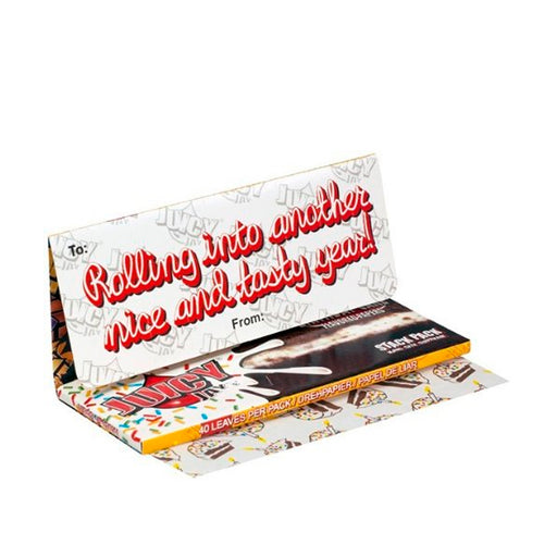 Juicy Jays Birthday Cake Rolling Papers with Tips