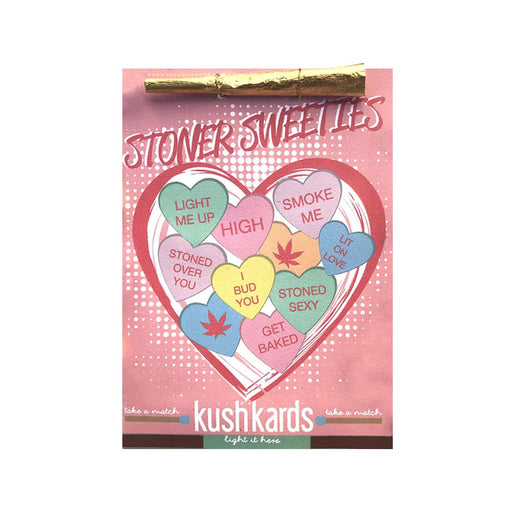 "Copy of KushKards ""just add a pre-roll"" Greeting Card - Stoner Sweeties"