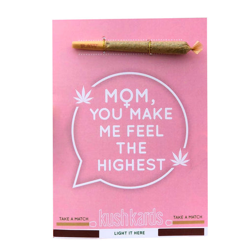 Cannabis Mothers Day Card KushKards Canada