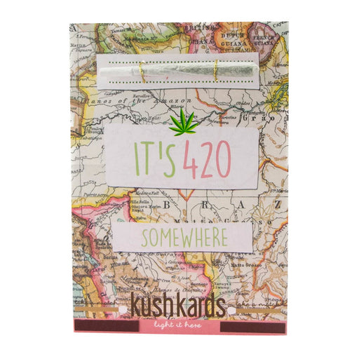 Weed Birthday Cards Canada KushKards 420 Somewhere