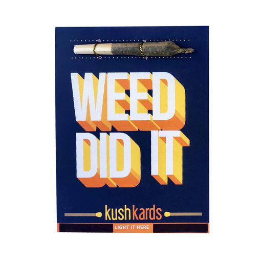 Weed Greeting Cards Canada Congratulations We did it