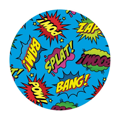 Comic Book Silicone Dab Mat