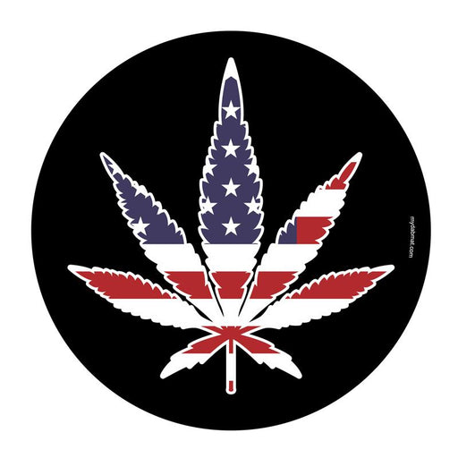 American Weed Leaf Silicone Dab Mat
