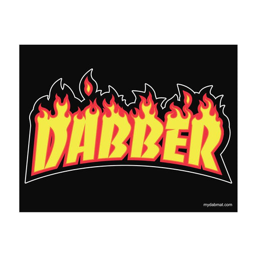 Dabber Fire Thrasher Silicone Dab Mat