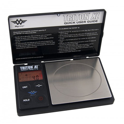 Most Accurate Travel Scale MyWeigh Triton XL 1000g Capacity Scale