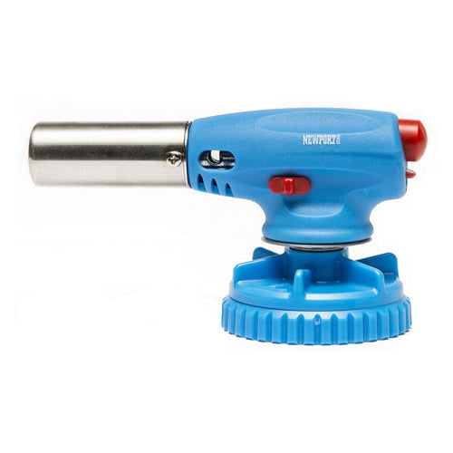 Screw on Torch for Butane Can Blue
