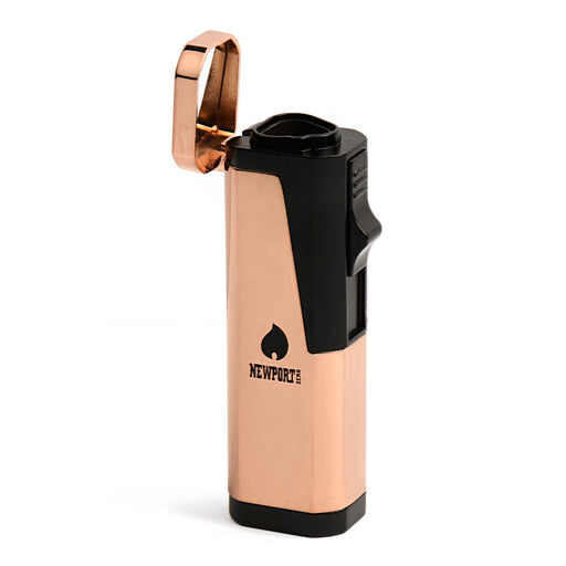 Rose Gold Triple Flame Pocket Lighter Newport Torches Canada