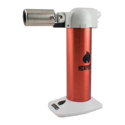 Red refillable Butane Torch Canada Newport Zero 6""