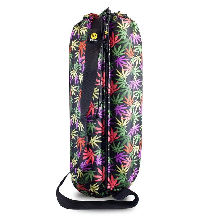 "Vatra Padded Tube Bag with Strap 18"" - V09 - Leaf Print"