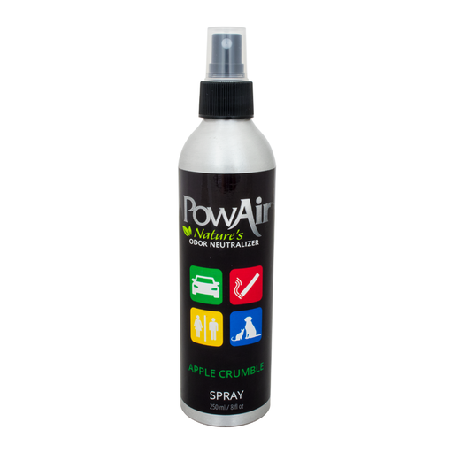 PowAir Apple Crumble Natural Odor Eliminator Spray non-toxic