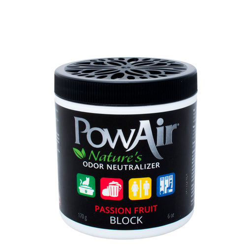 Passion Fruit PowAir Block Odor Neutralizer Natural Air Freshner
