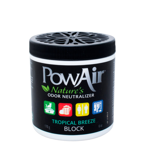 Tropical Breeze PowAir Block Odor Neutralizer Natural Air Freshner