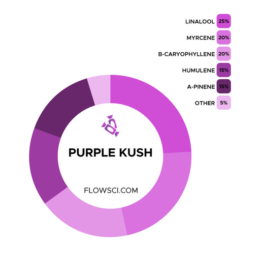 Purple Kush Terpene Strain Profiles Flow Sci