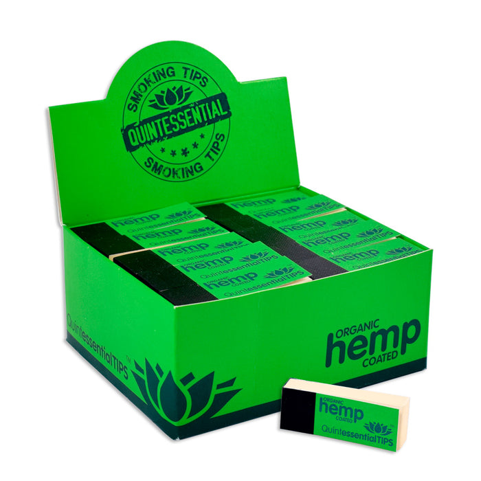 Quintessential Hemp Coated Rolling Tips Canada