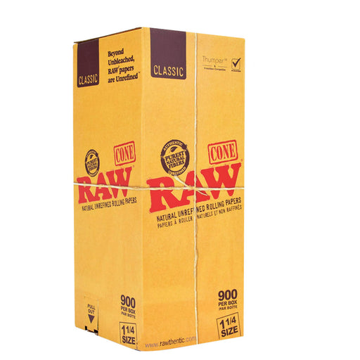 Bulk box of 11/4 cones RAW Canada