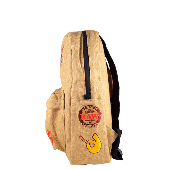 Where to buy RAW backpack with patches