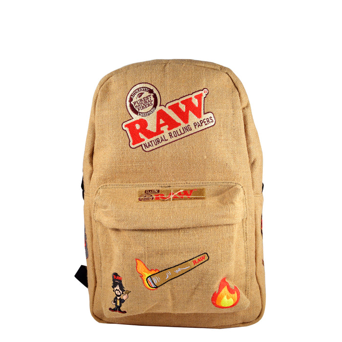 RAW Backpack with patches Canada