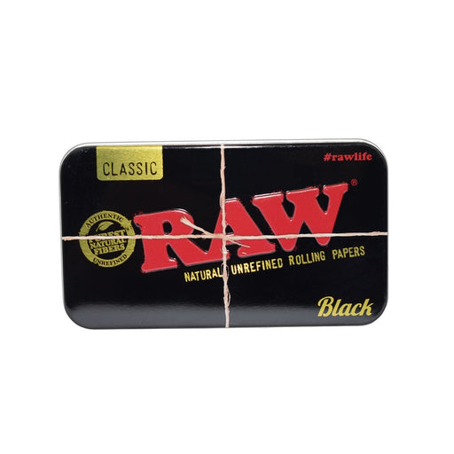 RAW Black Tin Case Canada