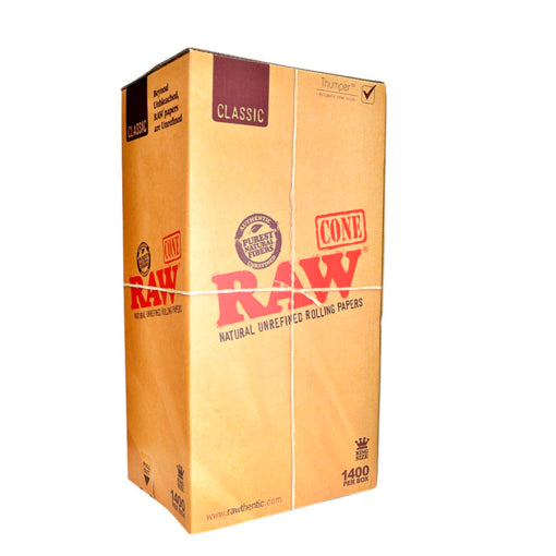 RAW King Size Cones in Bulk Canada 1400 Cone Box