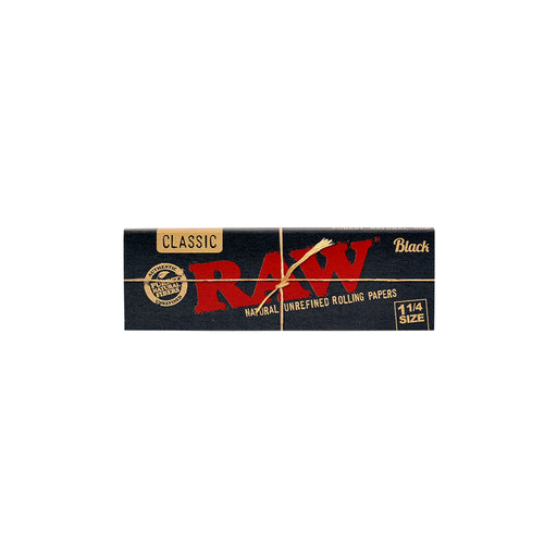 RAW Black Regular 1.25 Rolling Papers Canada