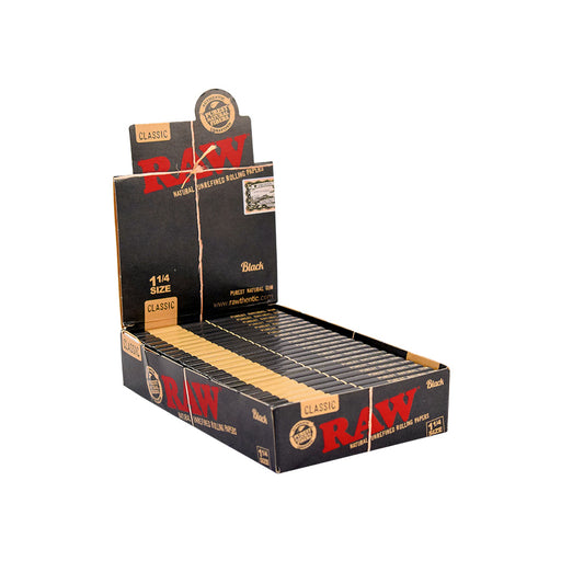 Buy RAW Black Rolling Papers by the Case in Canada