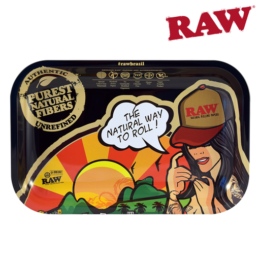 RAW Brazil Rolling Tray Canada Where to Buy