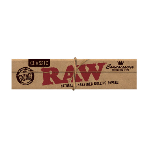 RAW Connoisseur King Size Slim with Tips Canada