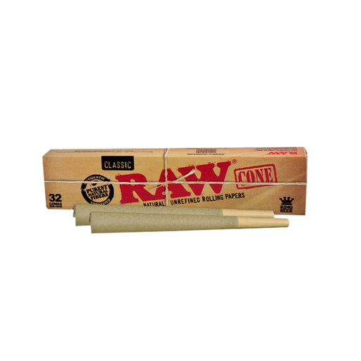 RAW Classic King Size Cones 32 pack Vancouver Canada