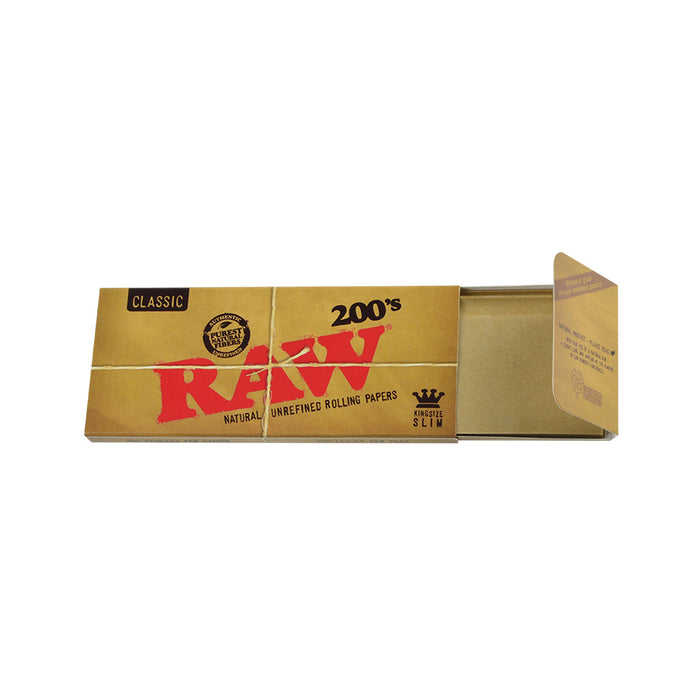 RAW King Size Slim 200 Sheet Packs Canada