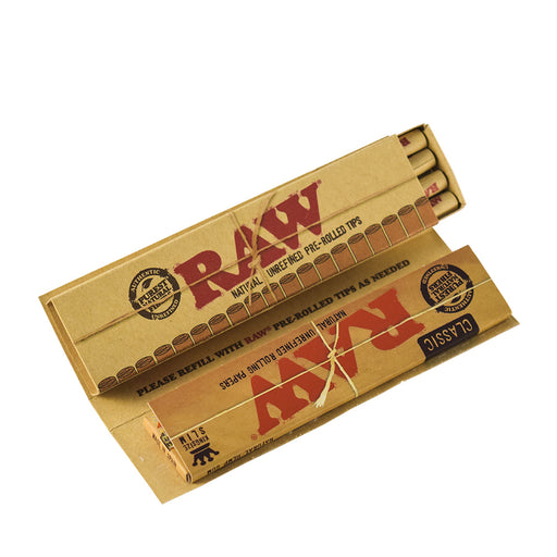 RAW King Size Rolling Papers with Prerolled Tips in 1 Pack Masterpiece Canada