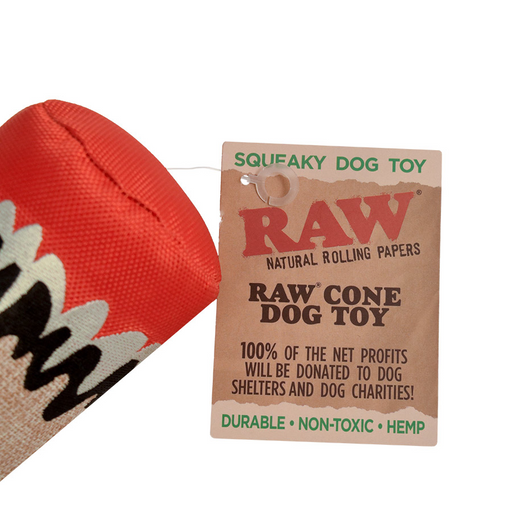 Fake Blunt Dog Toy RAW