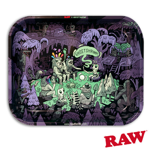 RAW Ghost Shrimp Rolling Tray Canada Artist Series