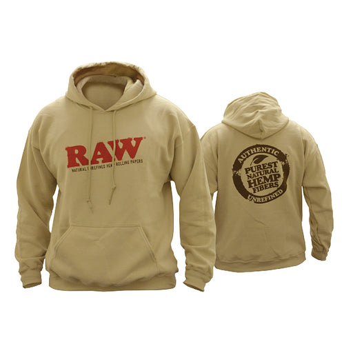 RAW Tan Hoodie Canada Best Price