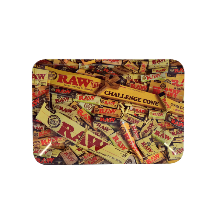 Cool RAW Rolling Tray Canada Cone Collage