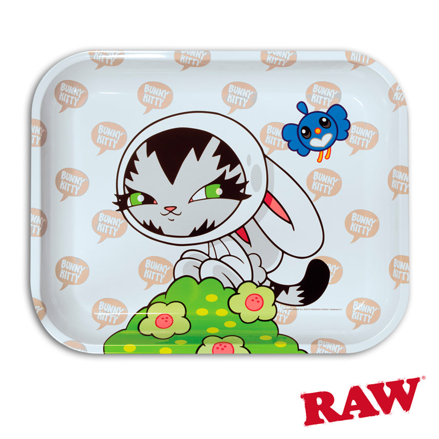 RAW Artist Series Rolling Trays Canada Persue Bunny Kitty