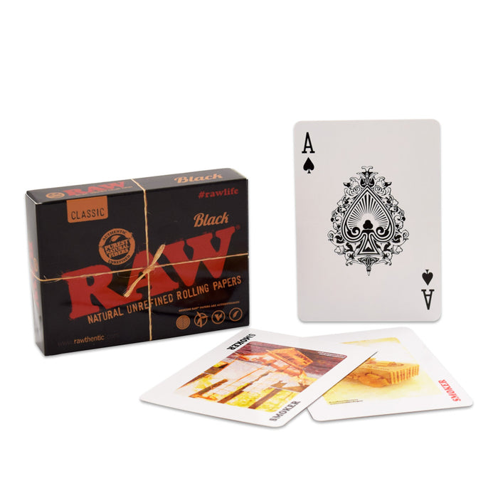 RAW Black Playing Cards Canada
