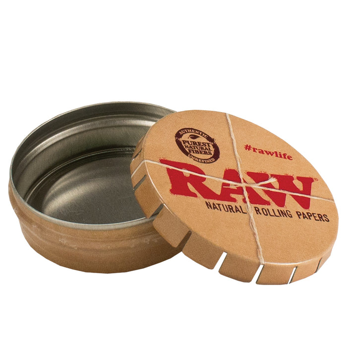 RAW Pop Top Storage Tin Vancouver Canada