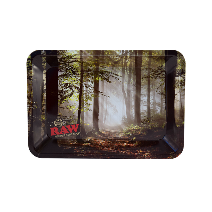 RAW Mini Smokey Trees Forest Rolling Tray Canada
