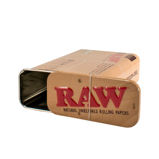 RAW Slide Top Storage Tin