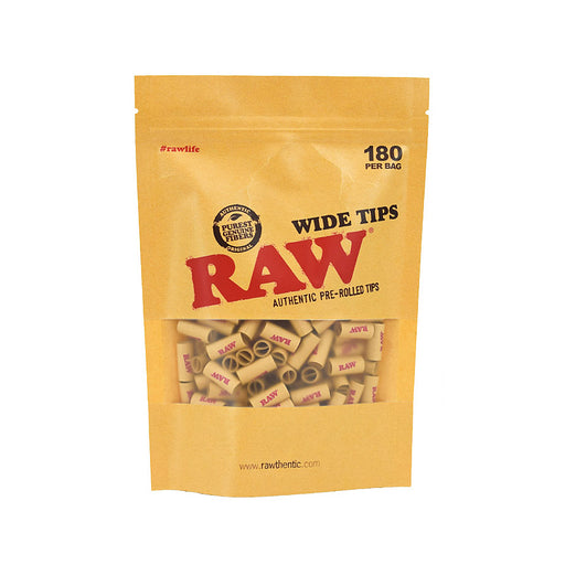 RAW Prerolled Wide Tips 180 Bag Canada