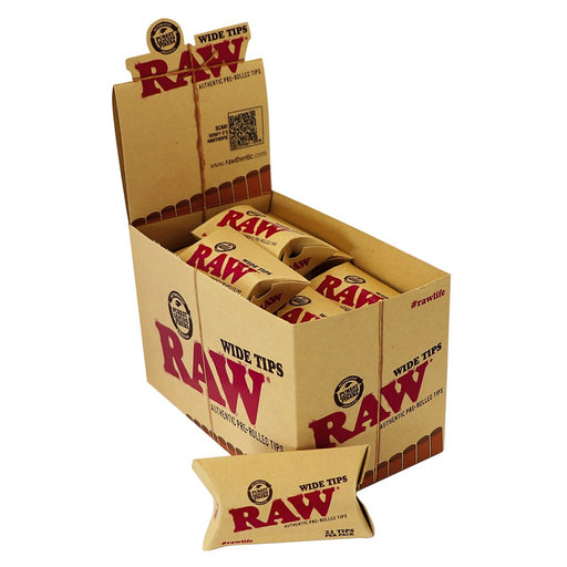 Raw Wide Prerolled Tips Canada