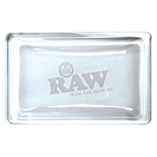RAW Crystal Glass Rolling Tray Canada