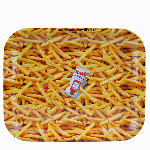 RAW French Fries Rolling Tray Canada