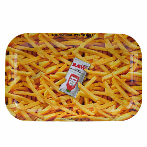 RAW French Fry Rolling Tray RAWthentic