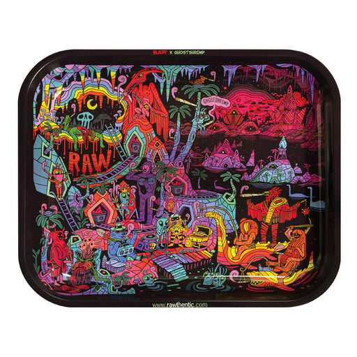 New Raw Ghost Shrimp V2 Rolling Tray Canada