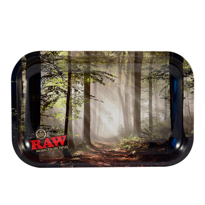 RAW Small Smokey Forest Rolling Tray Canada